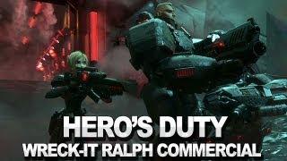 Wreck-It Ralph: Hero's Duty Commercial