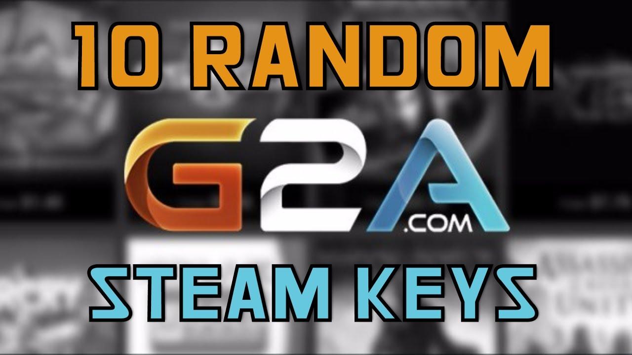 g2a 10 random keys