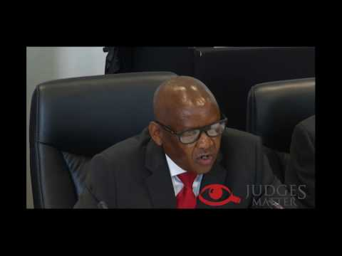 JSC interview of Ms D Mahosi for the Labour Court (Judges Matter)