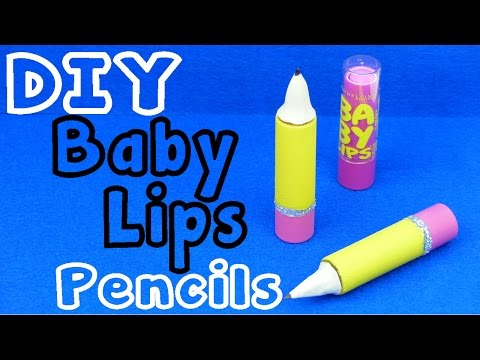 DIY Crafts: Baby Lips Lip Balm Pencil