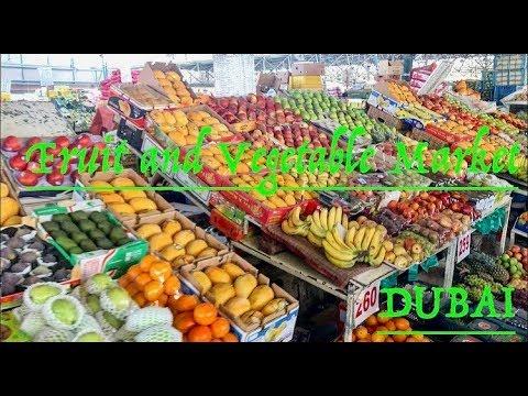 Fruit and Vegetable market  Dubai