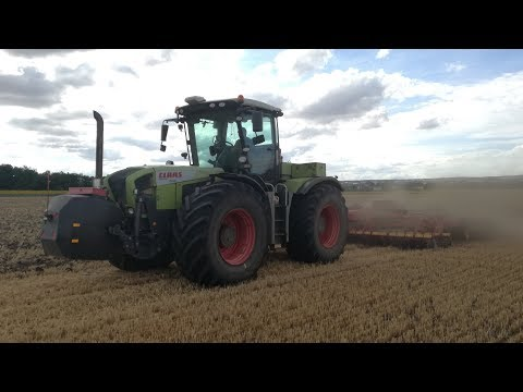 Claas Xerion 3800 Trac & Vaderstad TopDown...