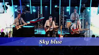 """The Locomotions - Sky blue -  van de DVD """"Relive the 60"""