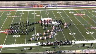 Airline H.S. - NSU 25th Annual Band Day 2013