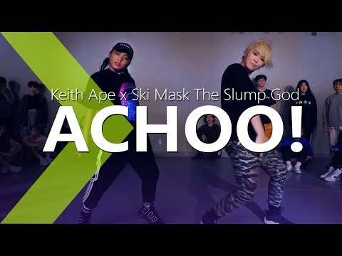 Keith Ape x Ski Mask The Slump God - Achoo! / PK WIN Choreography.