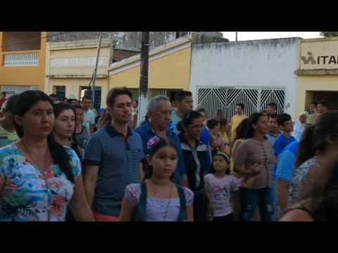 Procissão dá Igreja Salgado de São Félix  2017 -Paraiba-PB