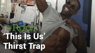 Sterling K. Brown Explains the Thirst Trap ✍