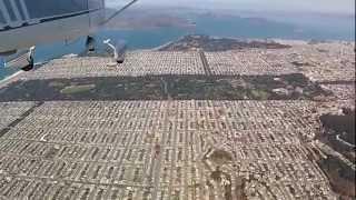 Flying the San Francisco Peninsula