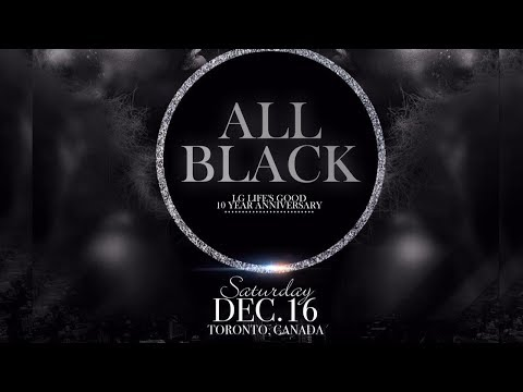 LG All Black Affair Dec 16,2017....Evrfresh Family..