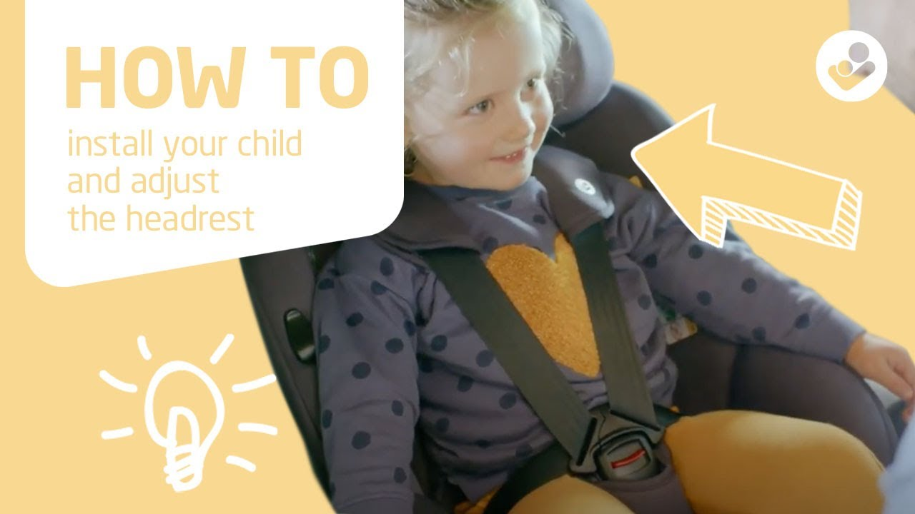 Maxi-Cosi | Mica | How to install your child and adjust the headrest
