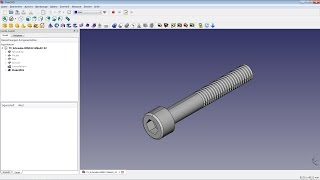 FreeCAD Lesson 09 - Outer Threads