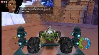 Hot Wheels Battle Force 5 / Nintendo Wii Race Games / Gameplay Video #2 FHD