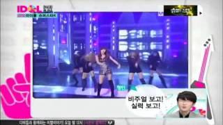 110817 Mnet.Idol Chart Show (No.13 G.NA 지나 )