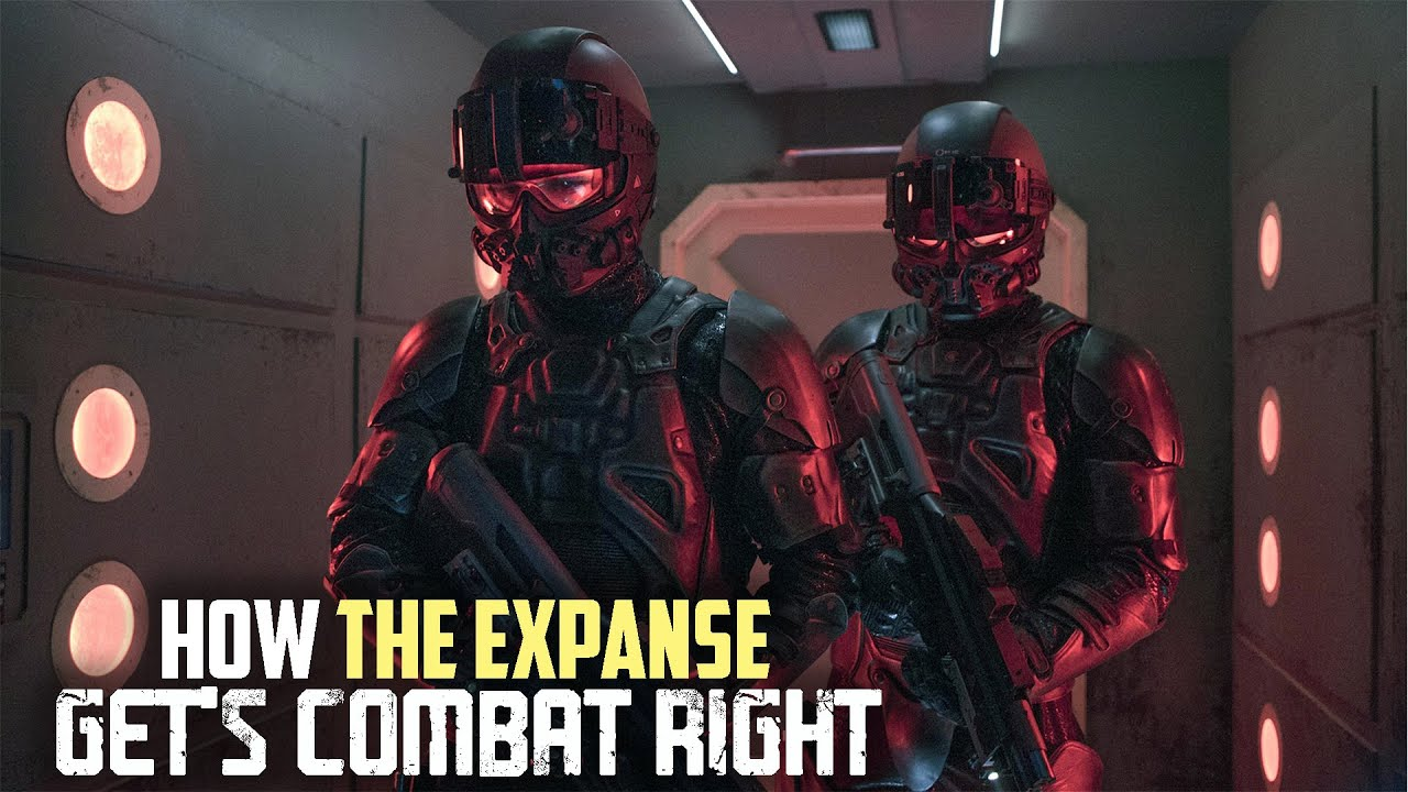 How the Expanse Gets Ground Combat Right