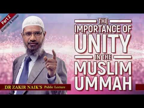 the importance of unity in the muslim ummah part 2 youtube. Black Bedroom Furniture Sets. Home Design Ideas