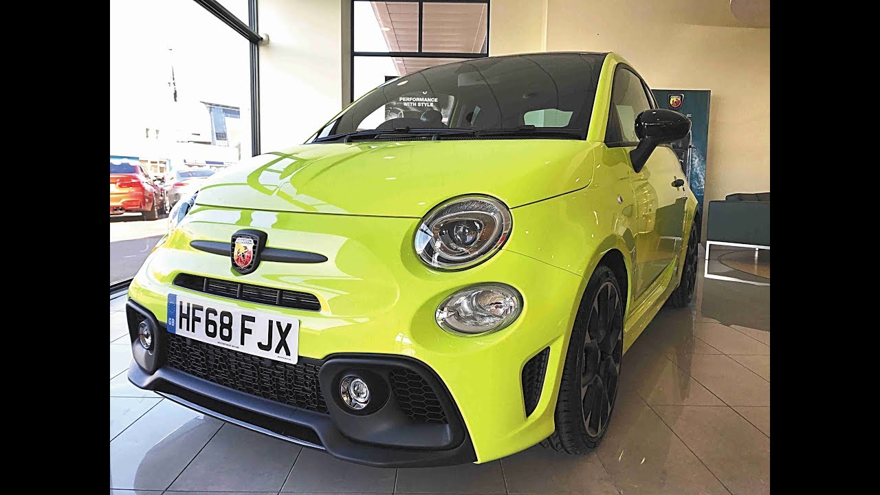 fiat 500 lime