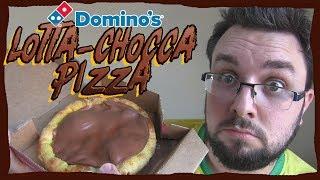 Domino's Lotta-Chocca Pizza Review (Chocolate Pizza)