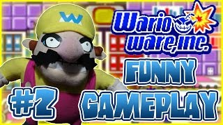 ABM: Wario Ware, Inc Gameplay Funny Rage! (Part 2)