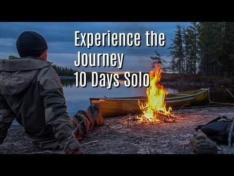 10 Days, 10 Items ; Alone on an Island in the Canadian Wilderness. Mini Series.
