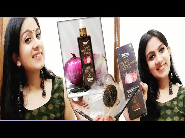 WOW Onion Black Seed hair Oil review /key ingredients Benefits in detail #rise&shinestyles