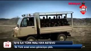 İşte ilk Türk malı 4x4 Astevo