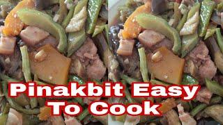 Panlasang Pinoy Pinakbit Easy to Cook my Own Recipe