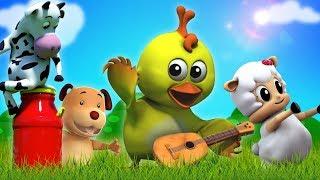 Os Sons Dos Animais | canções para crianças | Animals Sound Song