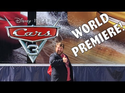 Cars 3 World Premiere!