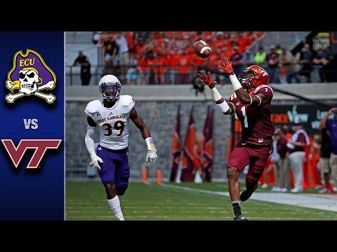 Virginia Tech vs. East Carolina Football Highlights (2016)