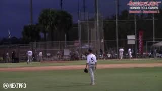 249   Thomas Wall   Day 1   Field 6   PO   Headfirst Baseball   Southeast 2018