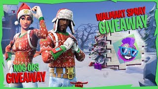 [NOG OPS GIVEAWAY] || Walmart Spray Giveaways || Fortnite Battle Royale
