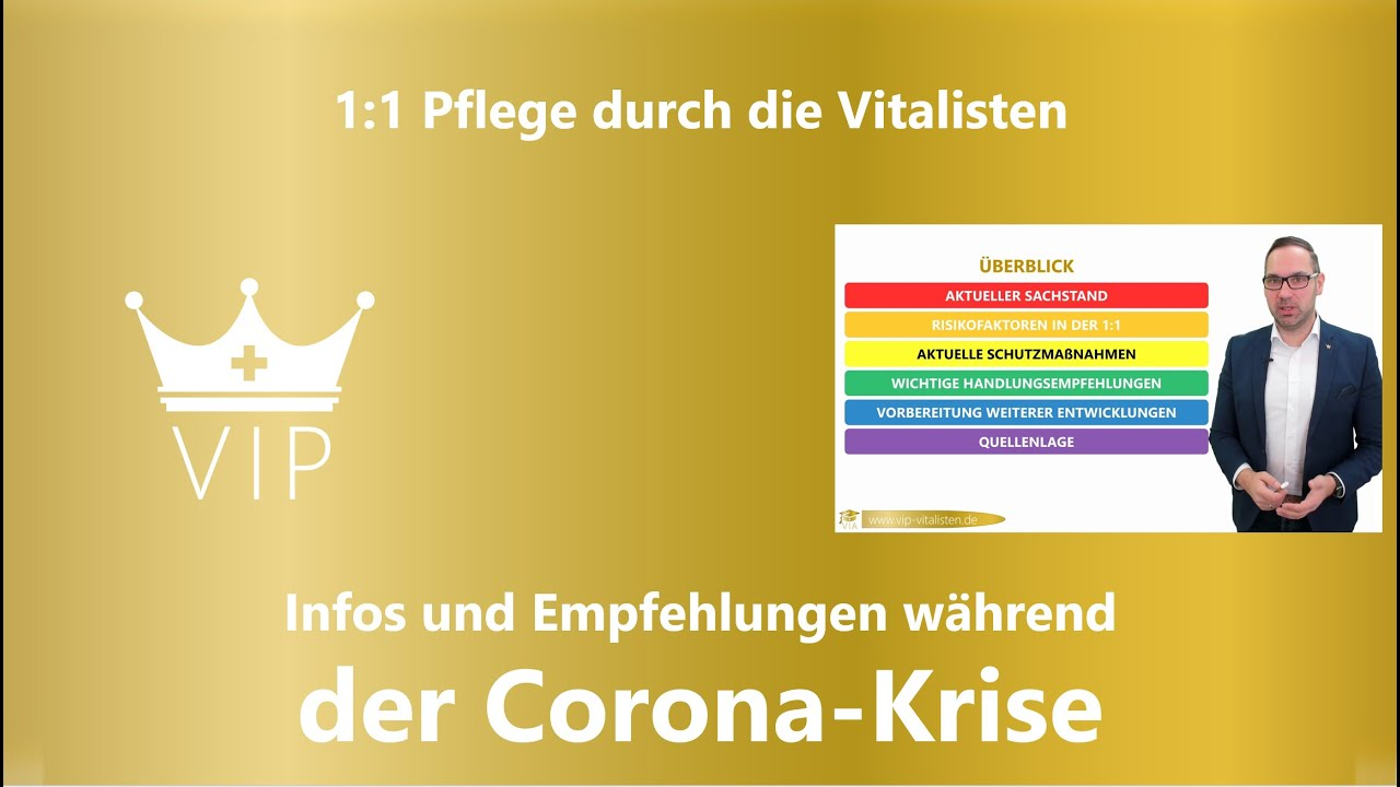 Corona | 1:1 Pflege durch die VIP
