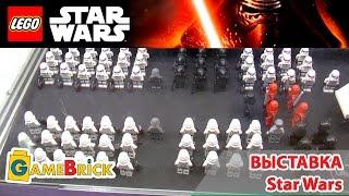 LEGO STAR WARS Пробуждение силы. Обзор выставки в музее GameBrick]