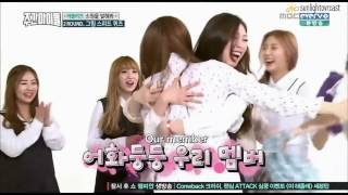 [ENG SUB] 160511 Lovelyz Weekly Idol Drawing Speed Quiz CUT