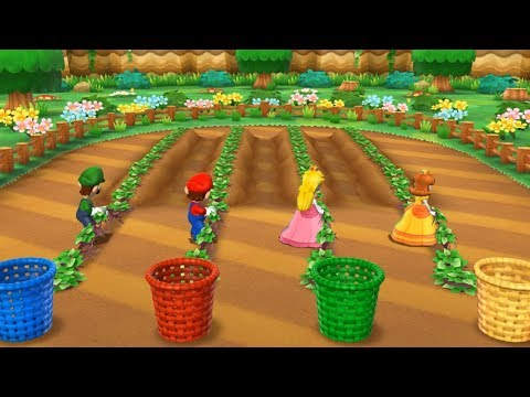 Mario Party 9 - Bowser Station (Luigi Gameplay/Hard Difficulty)