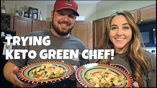 Keto Japanese Chicken & Fritters | Green Chef Meal | Cooking With Kat & Cody
