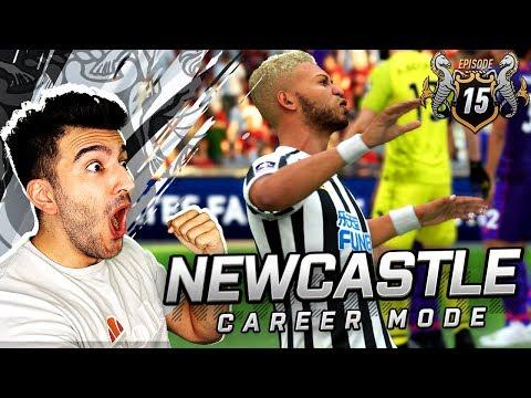 IS JOELINTON THE NEXT ALAN SHEARER? - FIFA 19 NEWCASTLE CAREER MODE 15