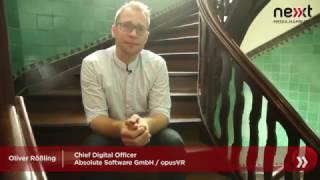 nextMedia.Minute - Oliver Rössling (Absolute Software GmbH, opusVR) über Intrapreneurship thumbnail