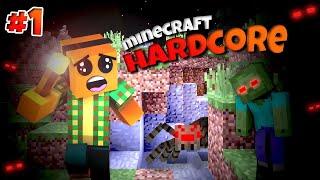 """Minecraft Hardcore #1 - """"Najtrudniejsze wyzwanie w Minecraft?!"""""""