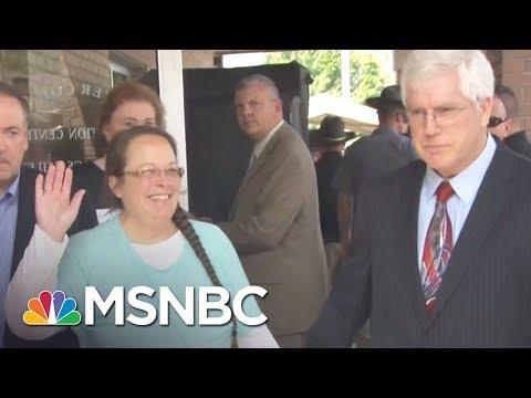 Man Denied Same-Sex Marriage License Runs To Take Clerk's Job | The Beat With Ari Melber | MSNBC
