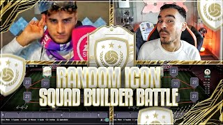 FIFA 21: RANDOM ICON SQUAD BUILDER BATTLE VS ERNE 🔥