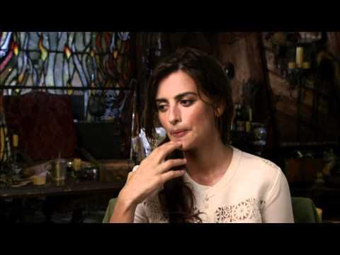 Penelope Cruz 'Pirates of the Caribbean: On Stranger Tides' Interview