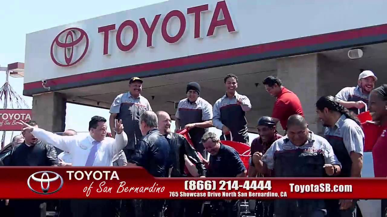 Toyota Of San Bernardino >> Toyota Of San Bernardino Als Ice Bucket Challenge Youtube