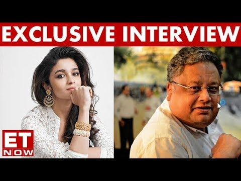Rakesh Jhunjhunwala In An Exclusive Interview With Alia Bhatt | ET NOW Exclusive
