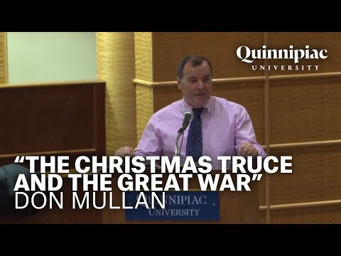 """""""The Christmas Truce and the Great War"""" - Don Mullan"""