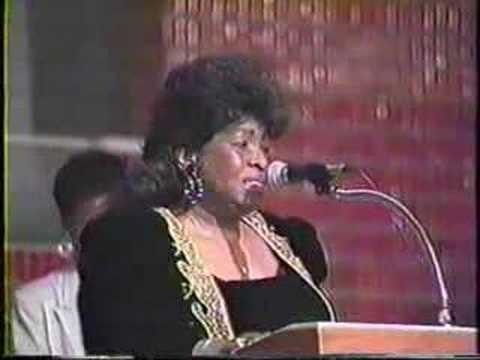 Albertina Walker James Clevelands funeral
