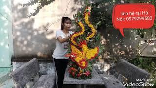 Hướng dẫn làm tráp rồng phượng tại Biên Hòa - Lh. 0963528283