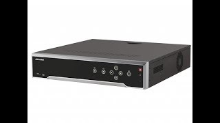 Обзор IP-видеорегистратора HIKVISION DS 8616NI K8