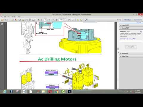 Varco Top Drive System in Oil and Gas Drilling Rigs by Free of Cost Classes