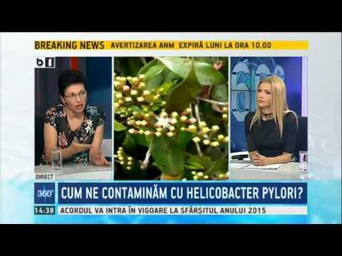 Fares - Emisiune B1TV (13 septembrie):  Helicobacter pylori